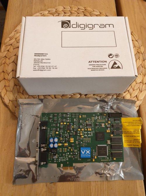 Digigram VX222e PCI-e soundcard