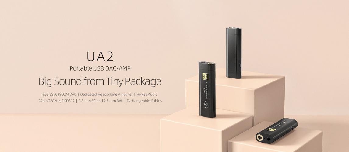 Shanling UA2 Portable USB DAC/AMP
