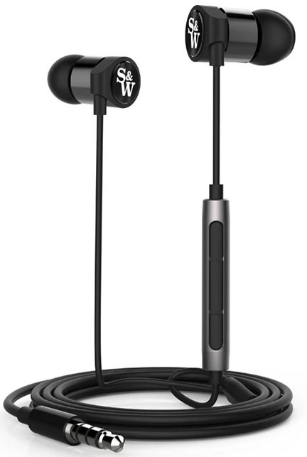 Strauss & Wagner EM205 Earphones 3.5mm Connection And Mic+Remote