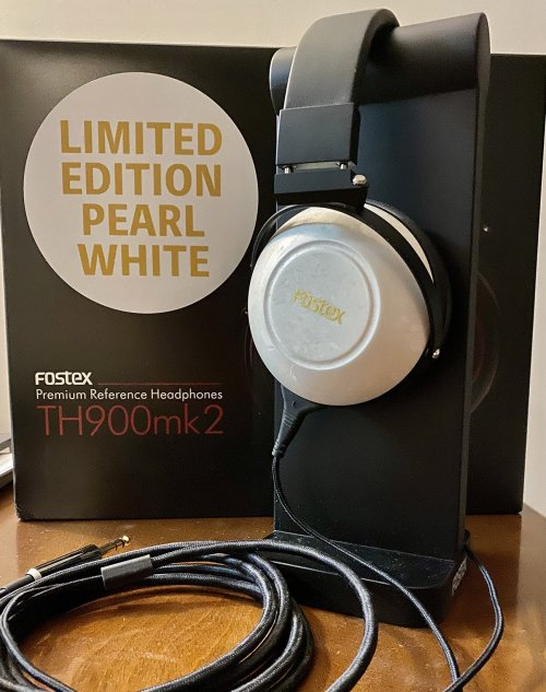 Fostex TH-900 mkII Limited Edition Pearl White Mint