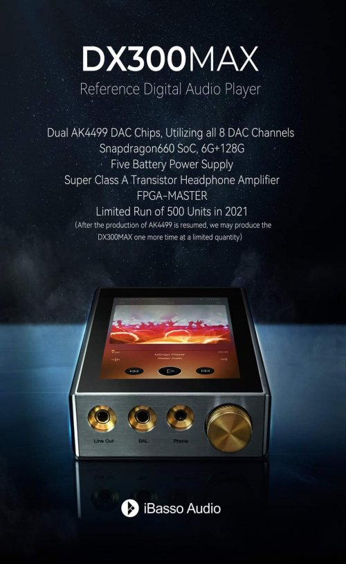 iBasso DX300 MAX