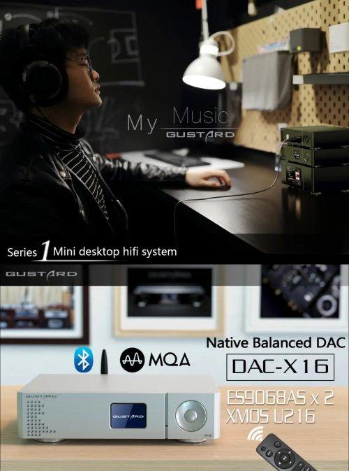 Gustard X16 DAC 2x ES9068AS