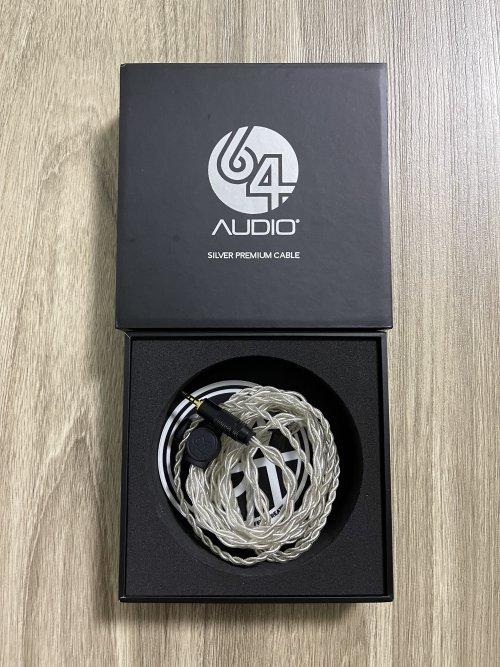 64 Audio Premium Silver Cable 2.5mm