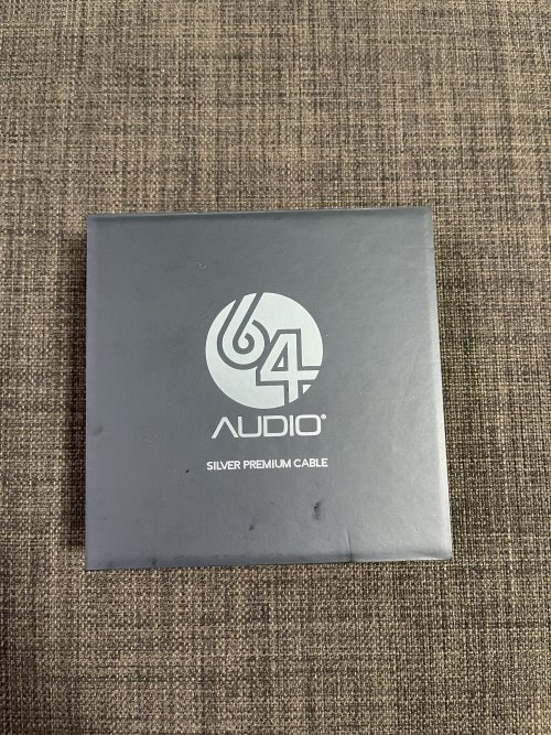 64 Audio Premium Silver Cable 3.5mm