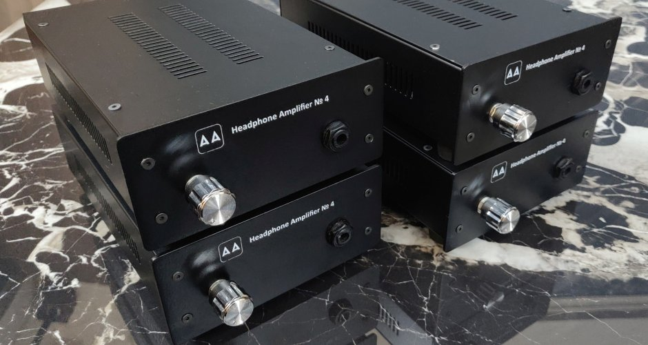 Anode Acoustics #4 Solid State Headphone Amp