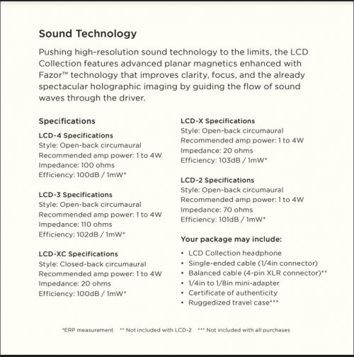 Audeze specs from Users Guide.JPG