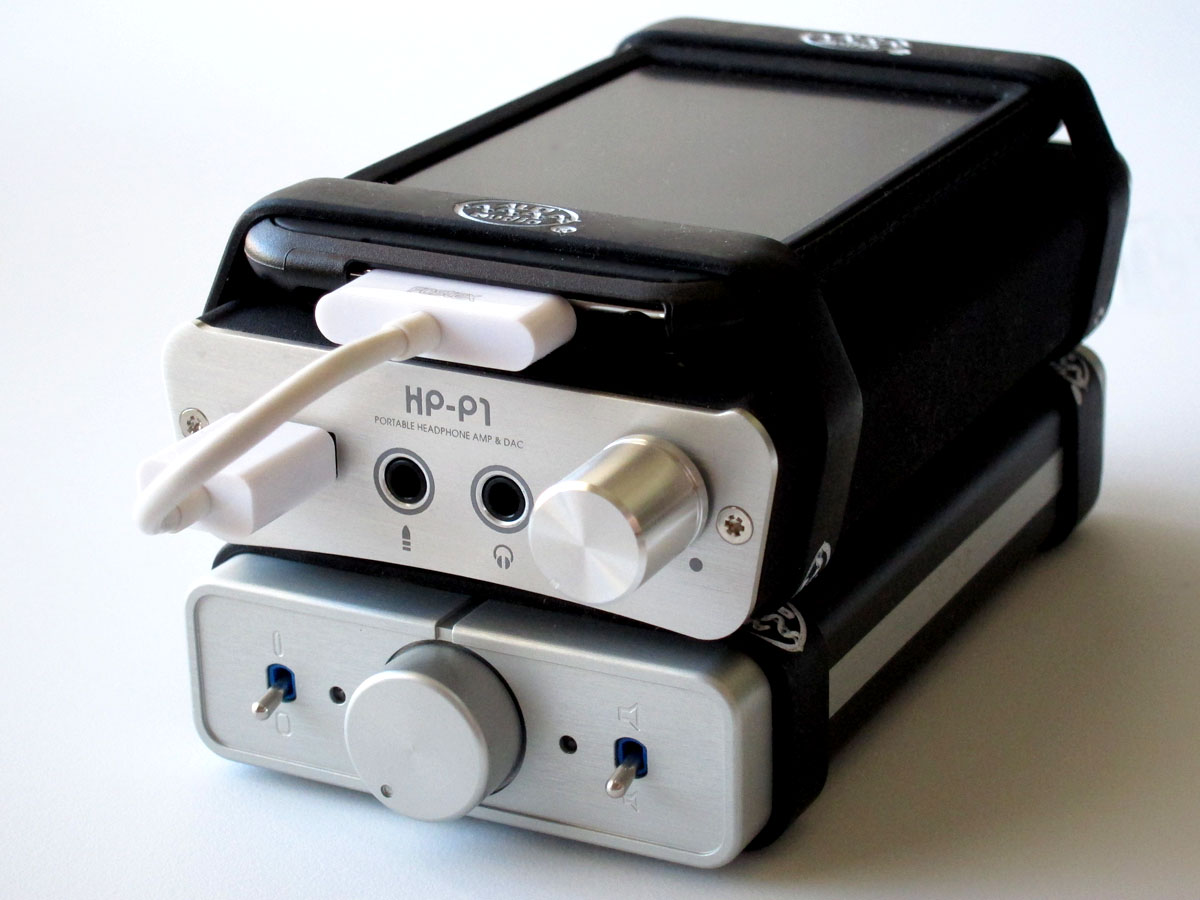 Fostex HP-P1 Portable Amplifier and DAC for iPod/iPhone