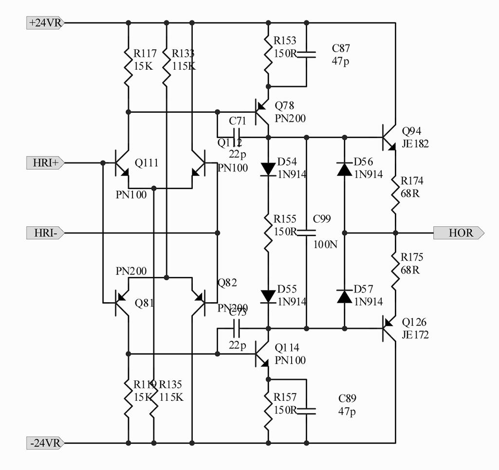Discrete OpAmp Schematic, help me please | Headphone Reviews ... on