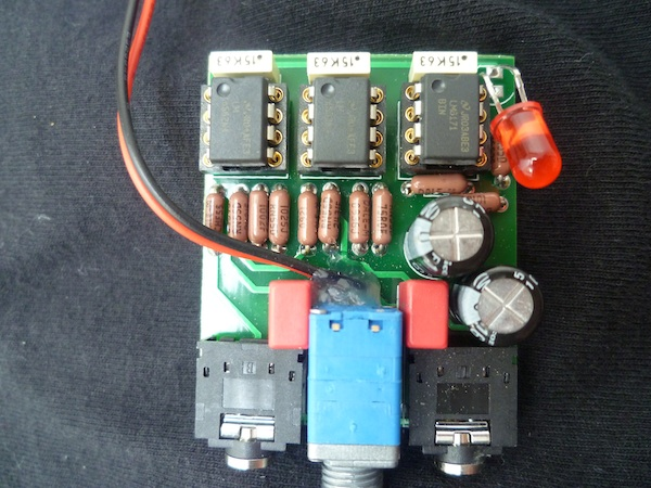 My new 3 Channel Cmoy - Amp LM 6171 & 2x LME4562 | Headphone
