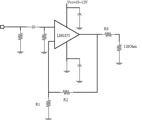 is it good to make the buffer of a hybrid headphone amplifier with lm1875
