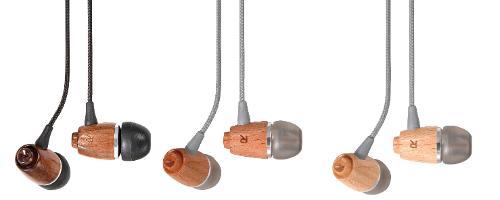 Aircoustic by Vivanco - beech wood ear speakers