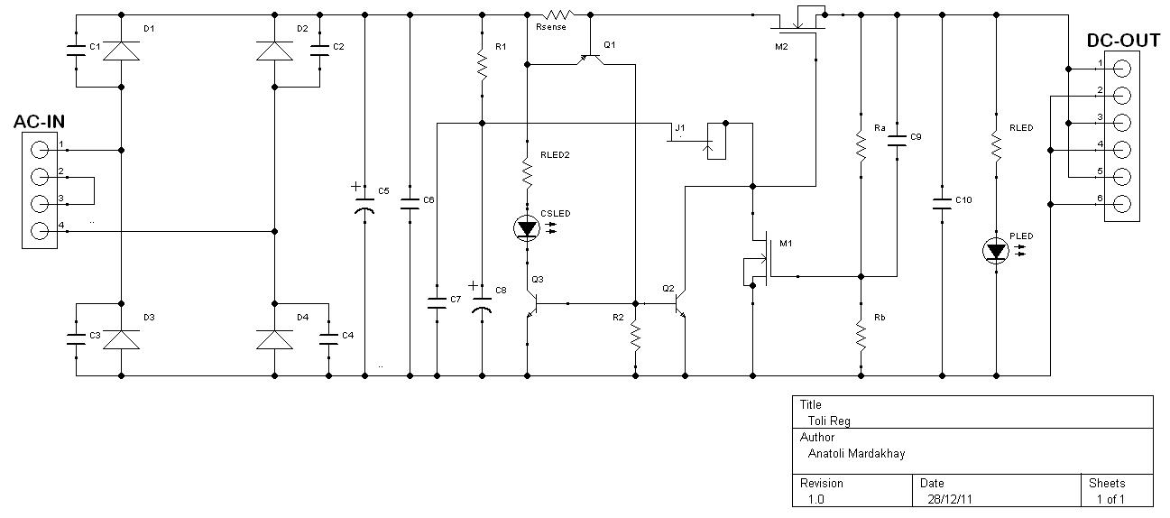 a simple voltage regulator for the diy u0026 39 ers
