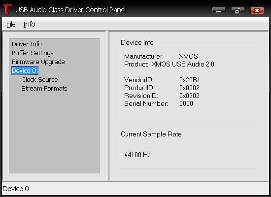 THESYCON USB AUDIO DRIVER FOR MAC