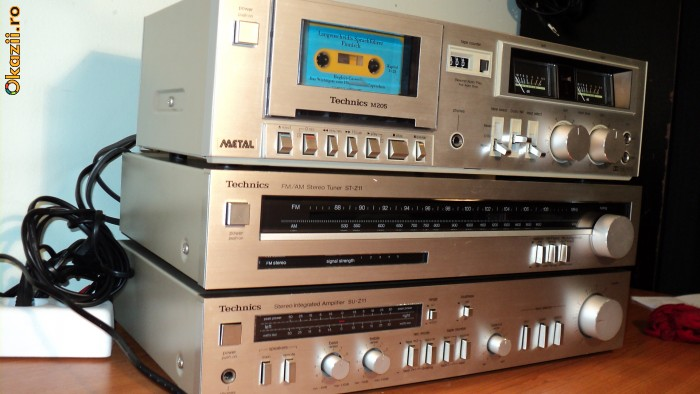 Very old Technics stereo system | Headphone Reviews and