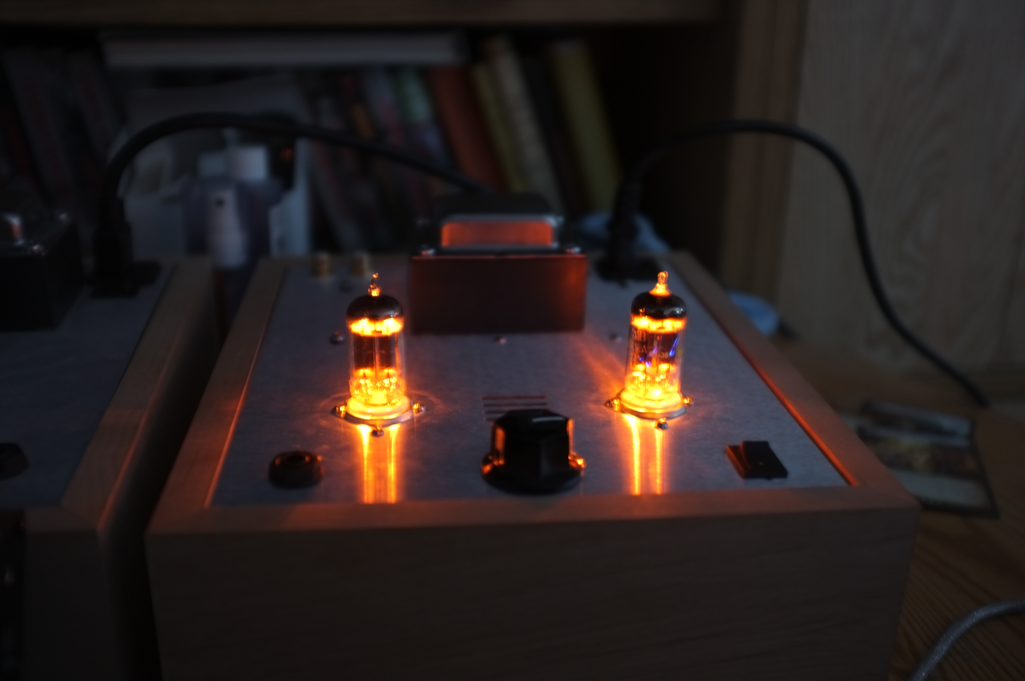 Review of my 5 DIY amplifiers  2012/03/21: Bottlehead Smack