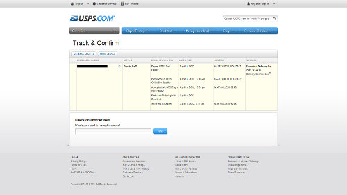 Has USPS' tracking improved? | Headphone Reviews and Discussion