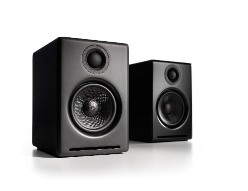 Audioengine A2B Powered Multimedia Speaker System - Black Finish