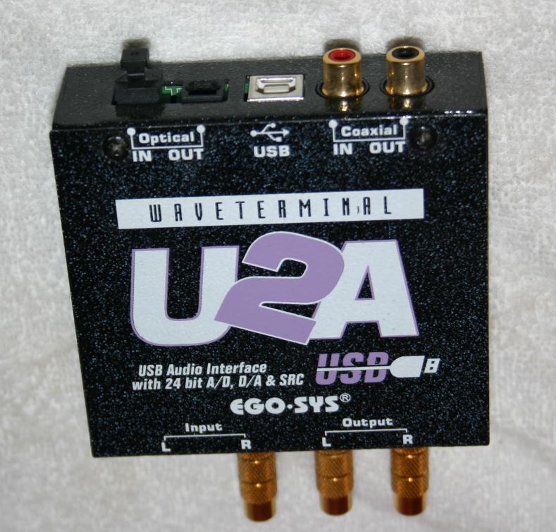 ESI Waveterminal U2A Audio Interface Last