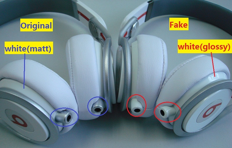 Beware Of Fake Beats Mixr Headphone