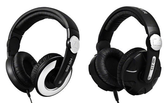 REVIEW  The Sennheiser HD 215 (the HD 205 s bigger brother ... b2f572c5aa00d
