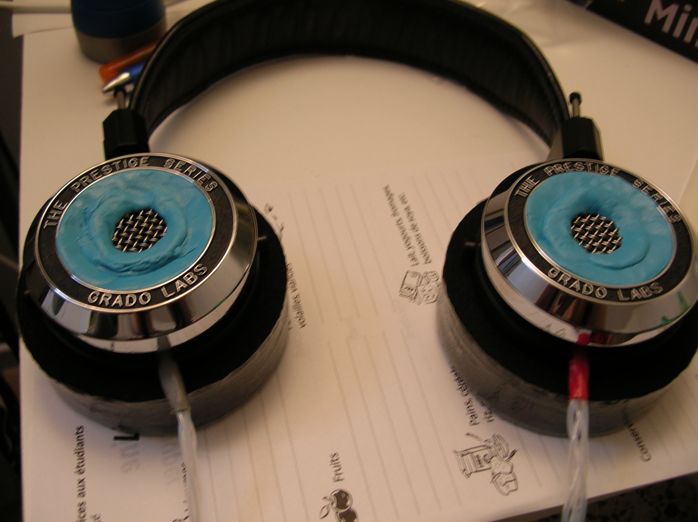 Grado pads – taped TTVJ flats: has anyone tried this before