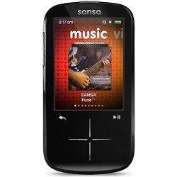 Sansa Fuze+ 8GB Black MP3 Player SDMX20R-008GK-E57,Black