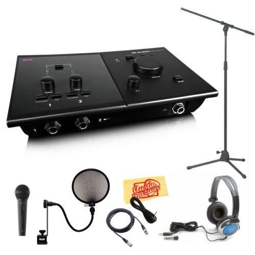 m audio fast track c400 next generation 4x6 recording interface plus pro tools se bundle with. Black Bedroom Furniture Sets. Home Design Ideas