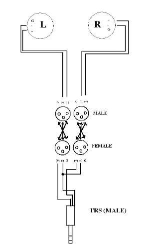 female xlr wiring diagram back