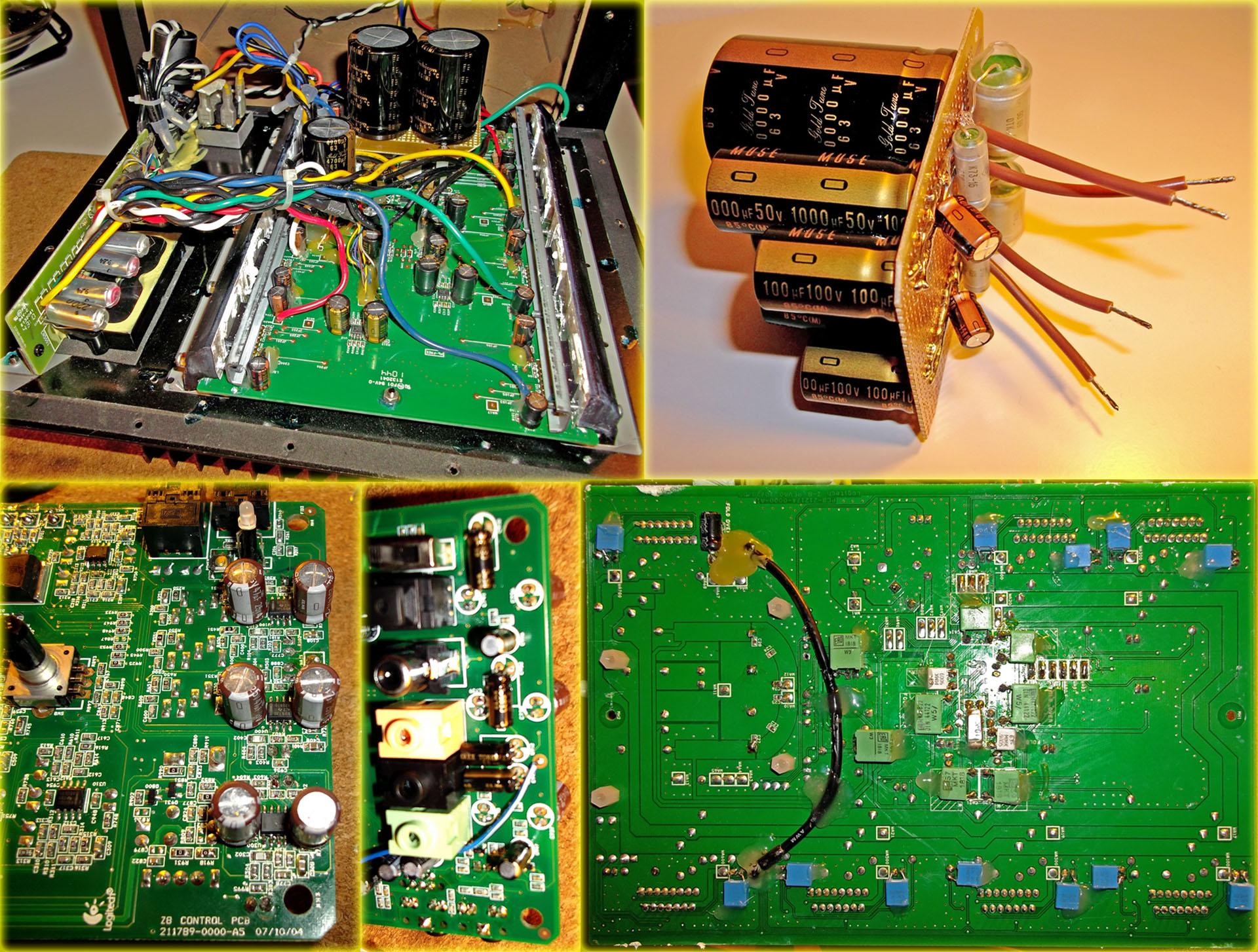 Almi's Logitech Z-5500 Mod (High-End upgrade for the speaker