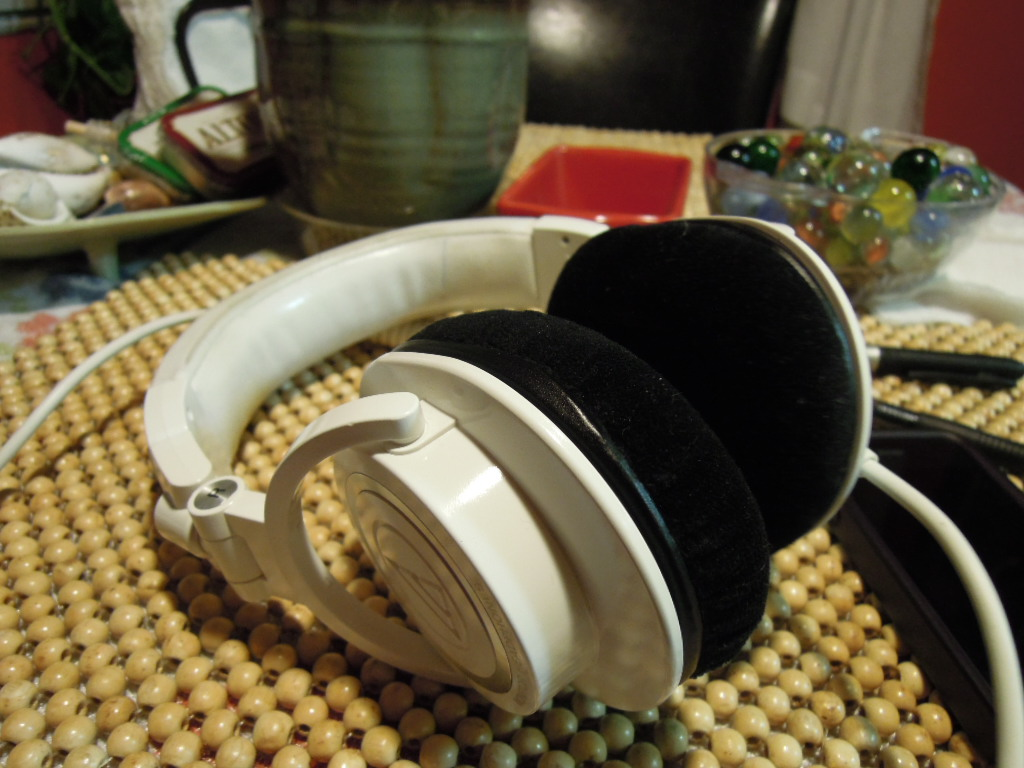 Audio-Technica ATH-M50s with Beyerdynamic DT250 Earpads