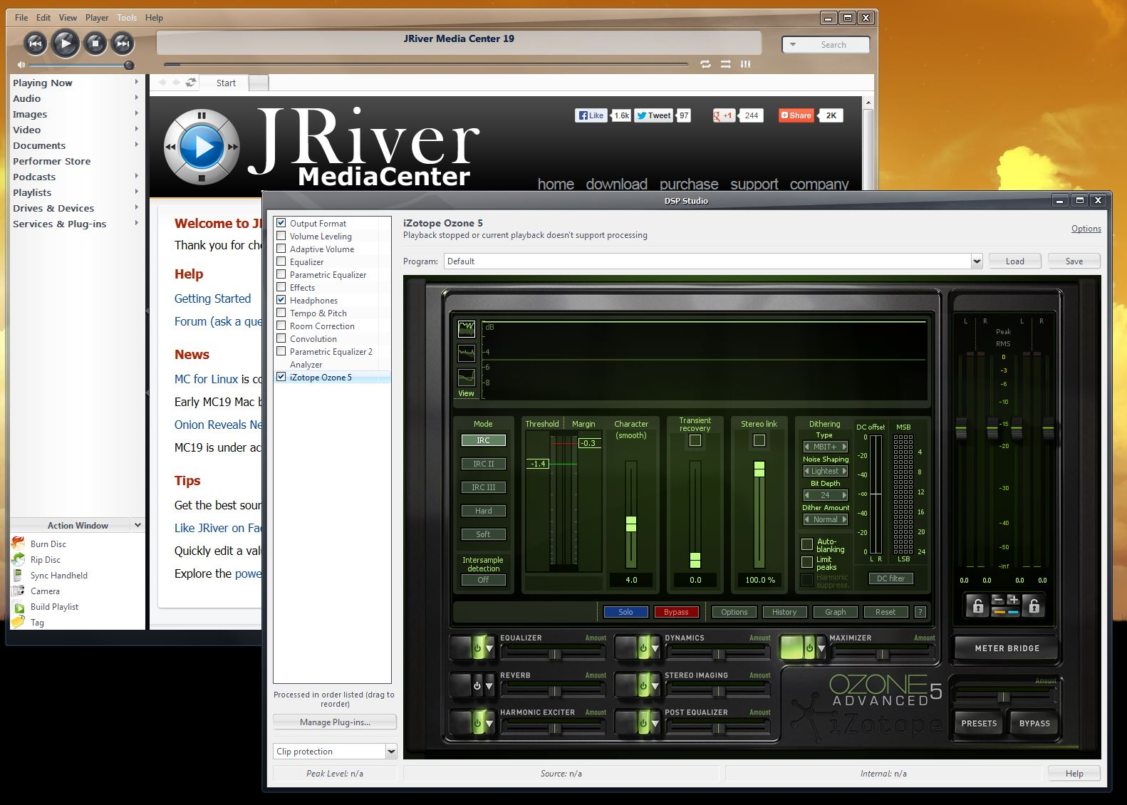 JRiver Media Center Plugins    | Headphone Reviews and Discussion