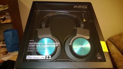 AKG K545 Portable Over Ear Headphone
