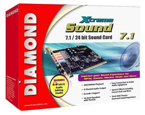 DIAMOND XTREMESOUND 7.1 24 BIT SOUND CARD WINDOWS DRIVER