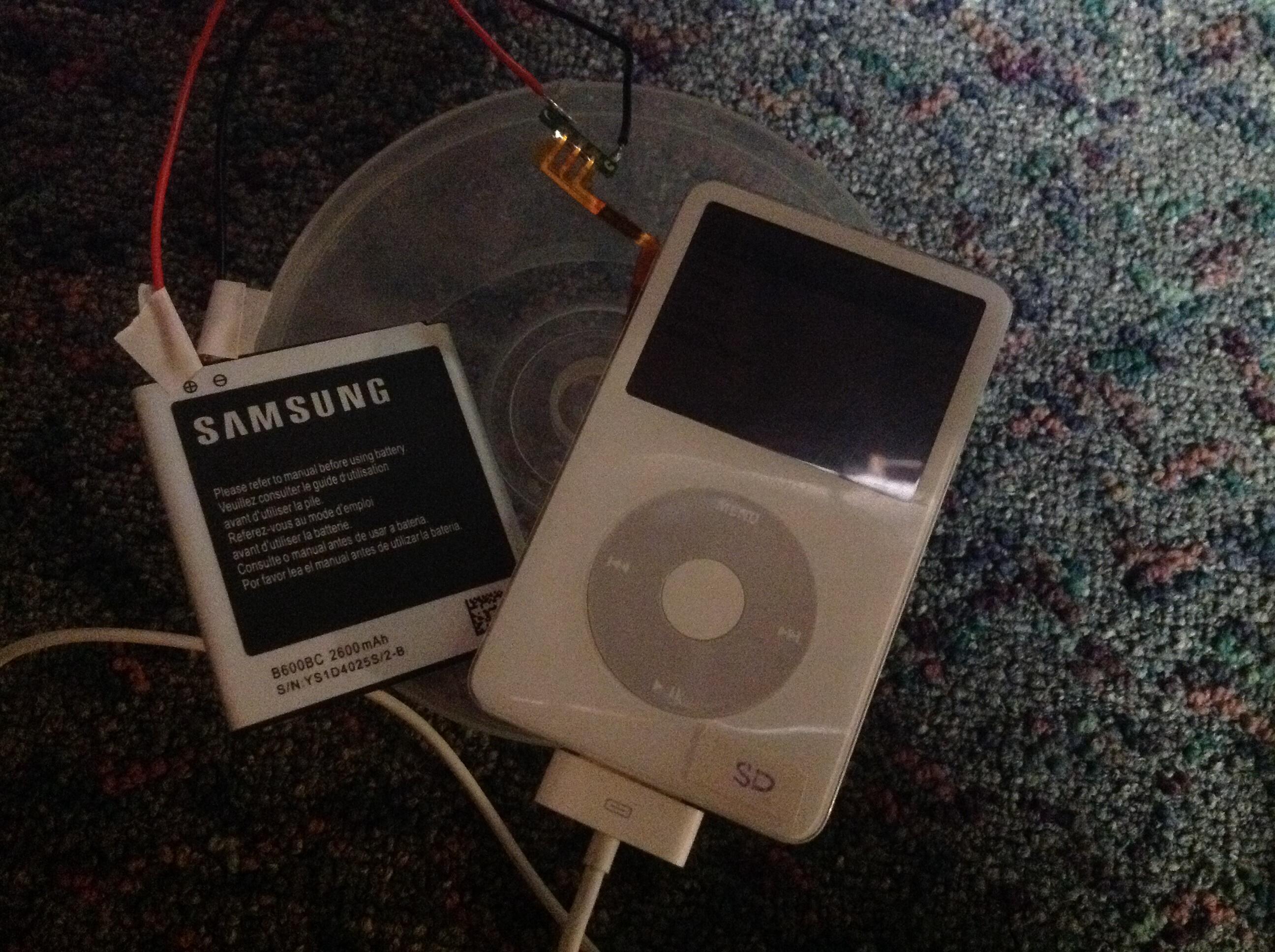 Akku Batterie für iPod Video 60-80GB//iPod Classic 160GB 850 mAh
