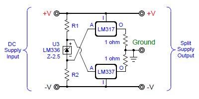 Virtual ground regulated and rail splitter circuits virtualgroundgoldpoint01g publicscrutiny Choice Image