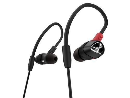 Pioneer DJE-1500-K Professional DJ In-Ear Headphones