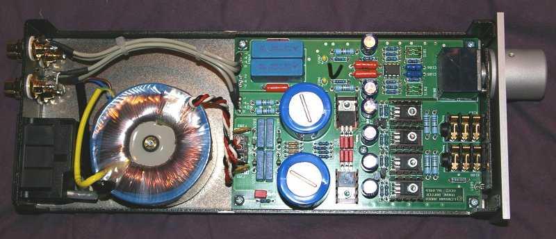 High-end Stereo Class A Headphone Amplifier Board PCB Ref Lehmann Amp circuit