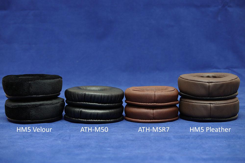 Brainwavz HM5 Velor Memory Foam Replacements Earpads