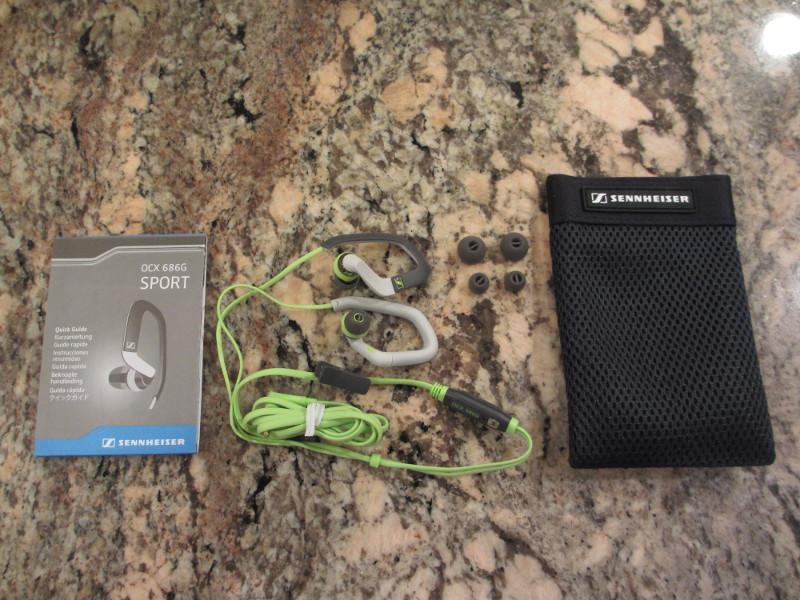 Sennheiser OCX 686G Sports Ear-Canal Ear Hook Headset ...