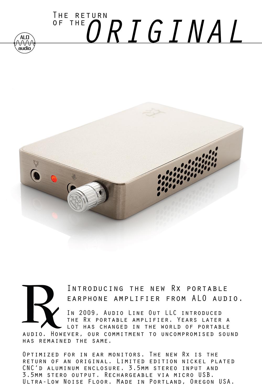 Rx | ALO Audio