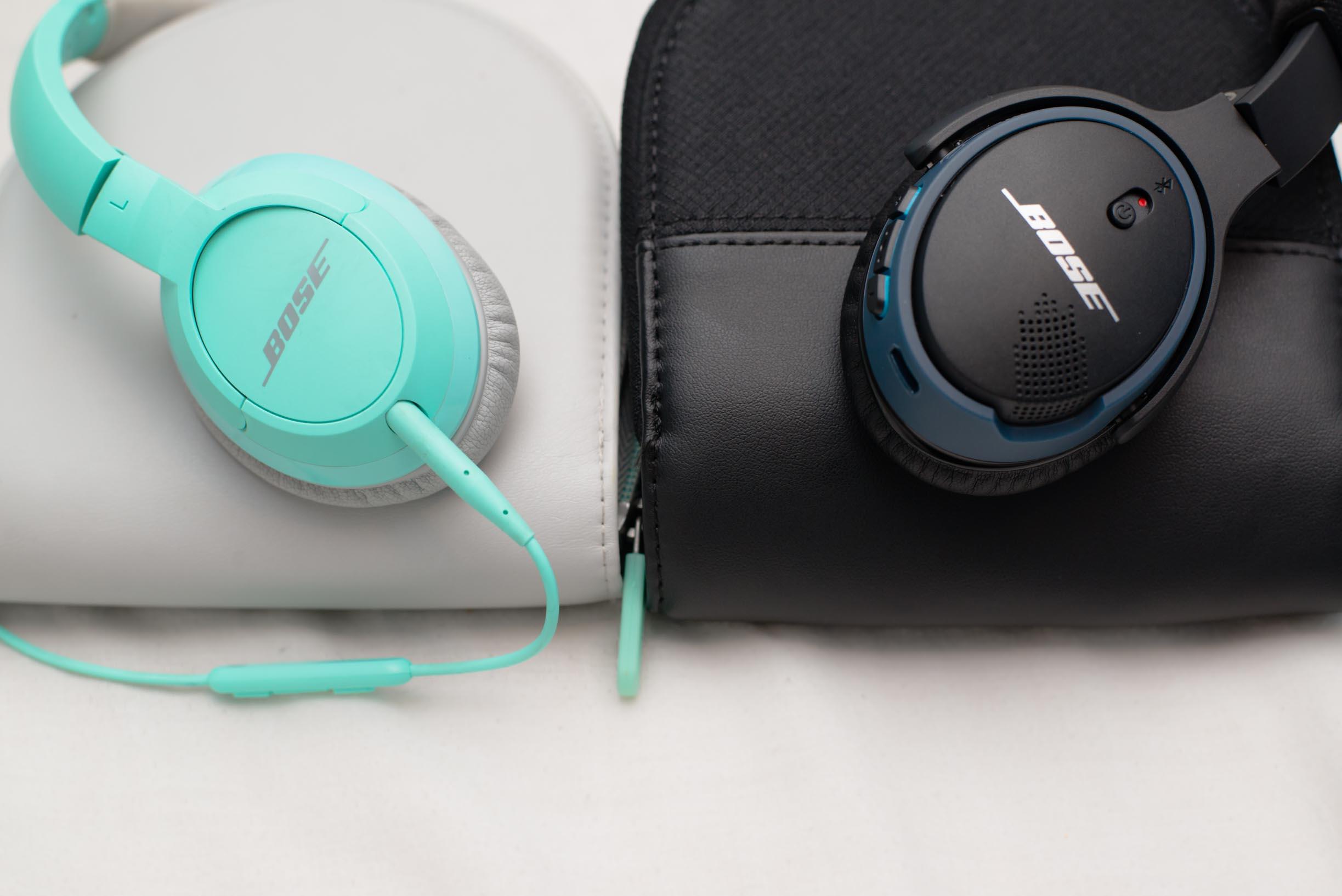 bose soundlink on ear bluetooth headphones black reviews head. Black Bedroom Furniture Sets. Home Design Ideas