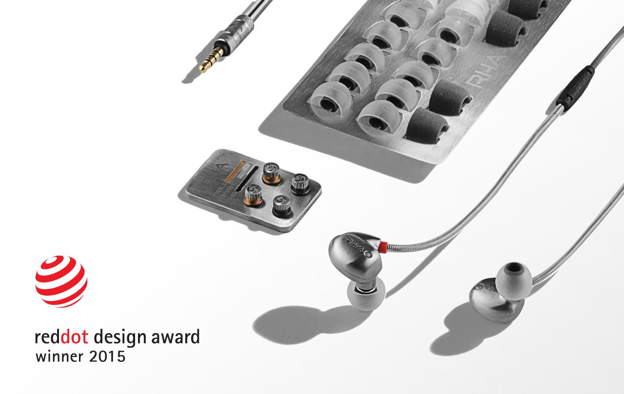 rha t10i in ear headphone wins prestigious red dot award for product design headphone reviews. Black Bedroom Furniture Sets. Home Design Ideas