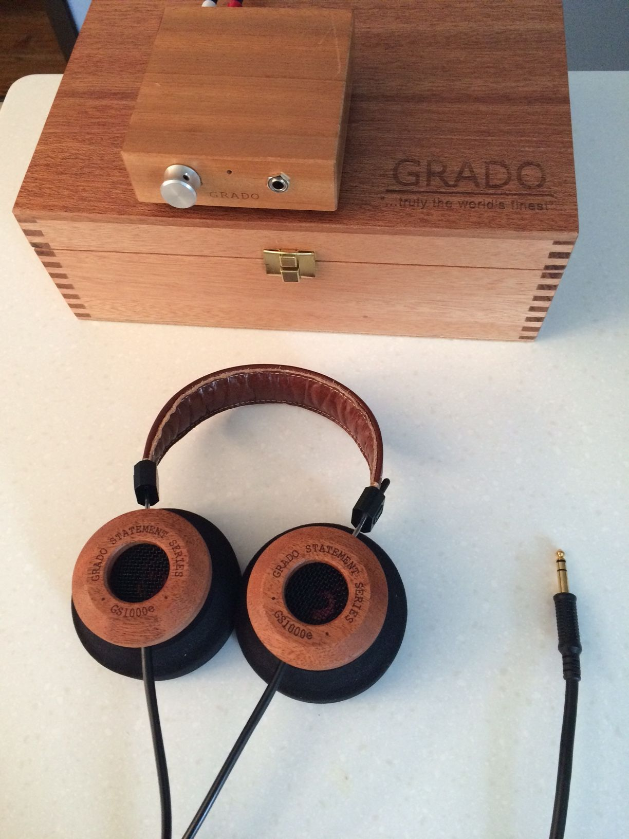Grado Fan Club Page 1656 Headphone Reviews And Discussion Sr125 Wiring Diagram Gs1000e Headphones With Box Ra1 Amp Not Used