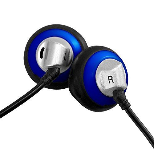 HifiMan Electronics ES100 Vintage Style Earbud with 15mm Driver - Blue