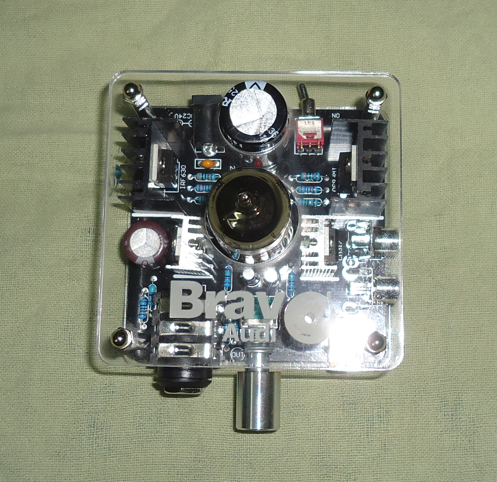 Bravo Audio Tube Amplifier V2 Reviews Headphone And Usable If A Friend Wants Music Circuit I Thinks This All Of Bravos Amps Are Hybrids Driven By Mosfets Pure Class Ensures In Mammoth Output Power Appreciable Clear Sound Quality