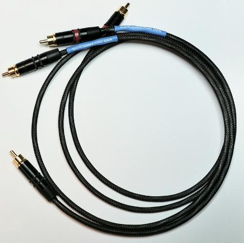 SurfCables PRO-1 RCA Interconnect