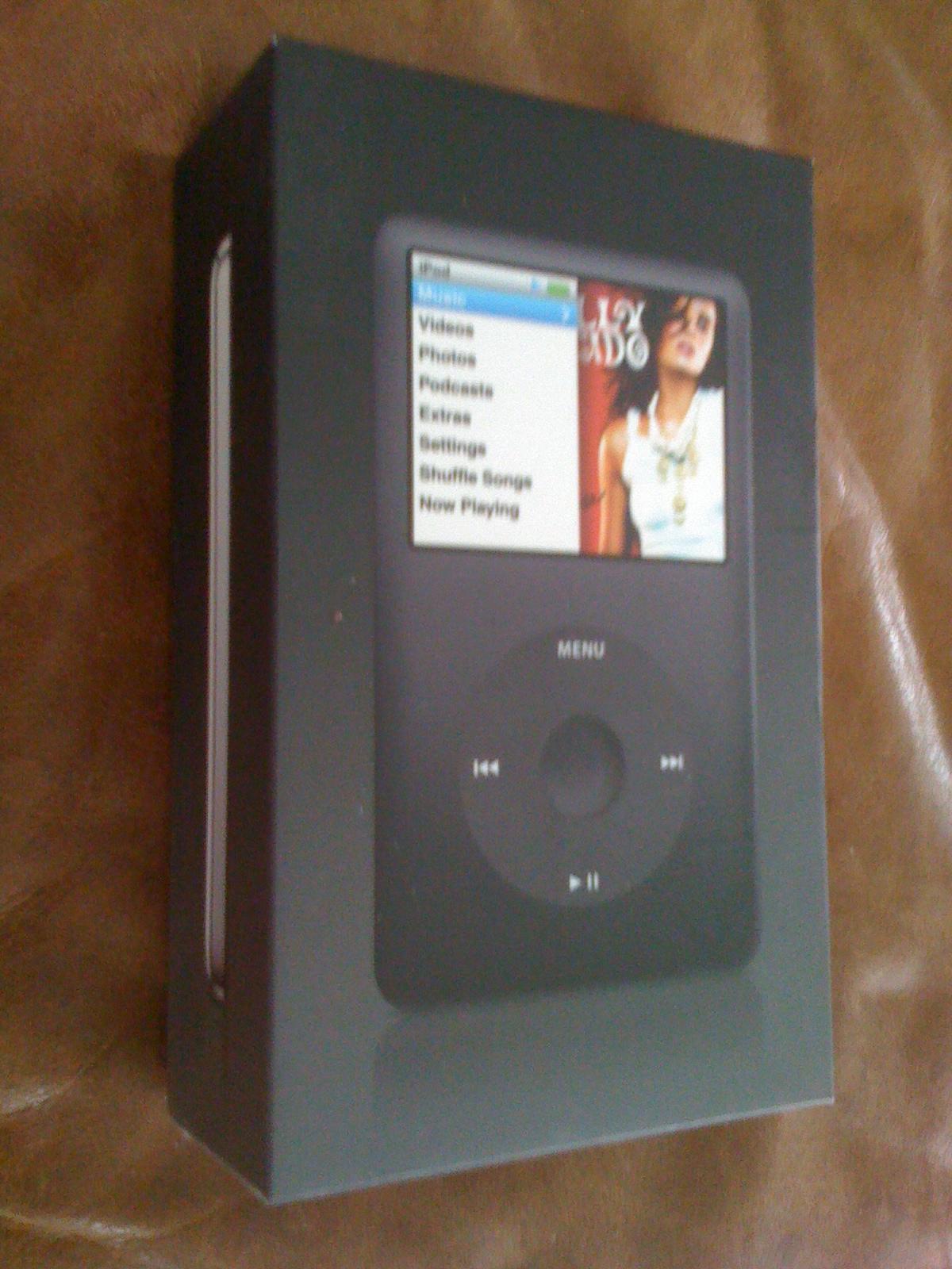 sold 6th generation ipod classic 80gb black great condition rh head fi org ipod classic service manual 160GB iPod Classic 6th Gen