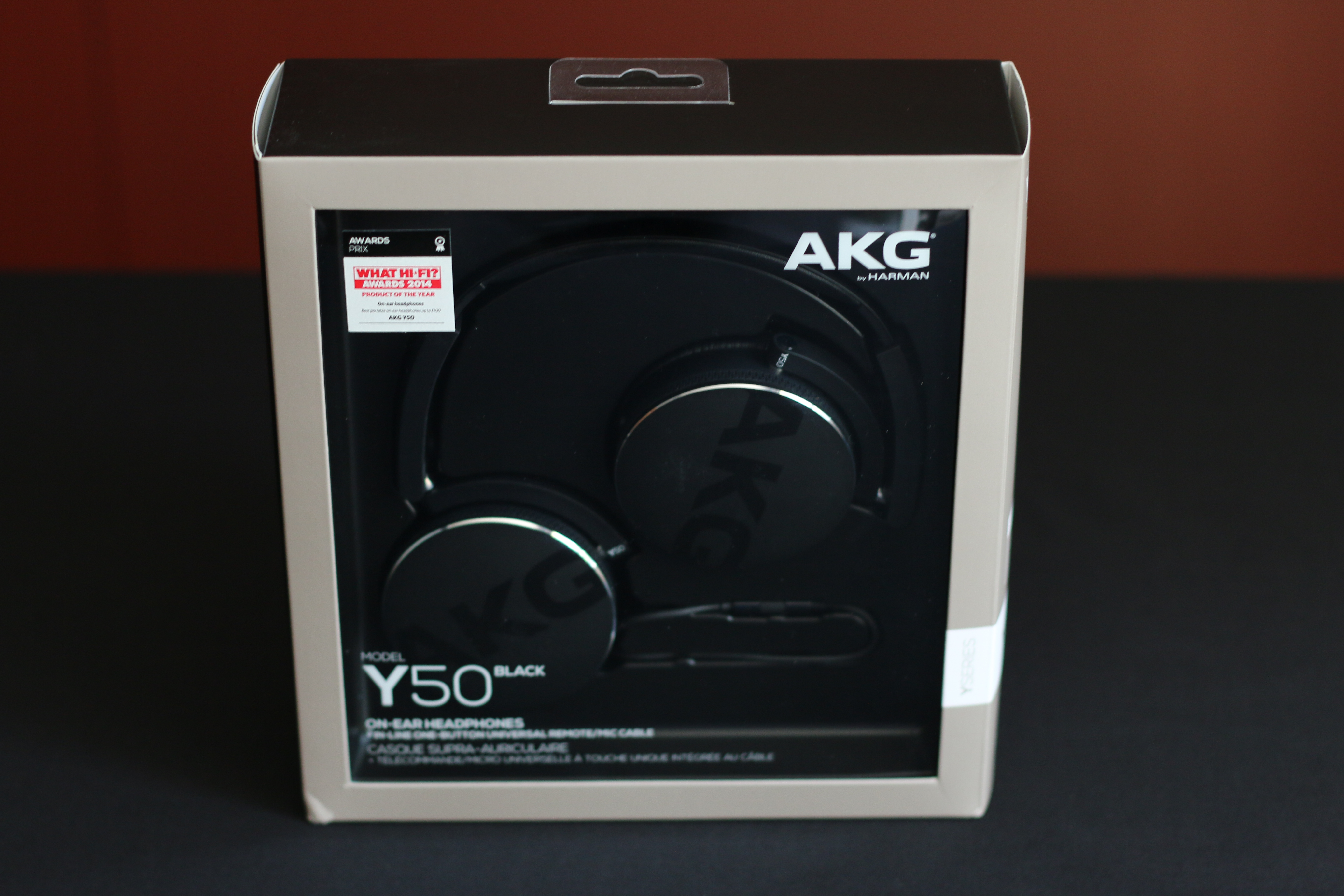 Akg Y50 Black On Ear Headphone With In Line One Button Universal Y50bt Img 1540