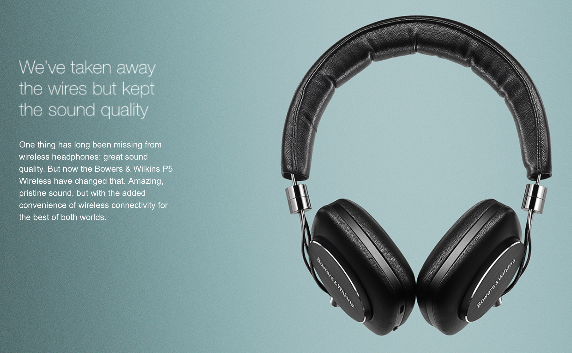 Bowers & Wilkins P5 Wireless | Headphone Reviews and Discussion ...