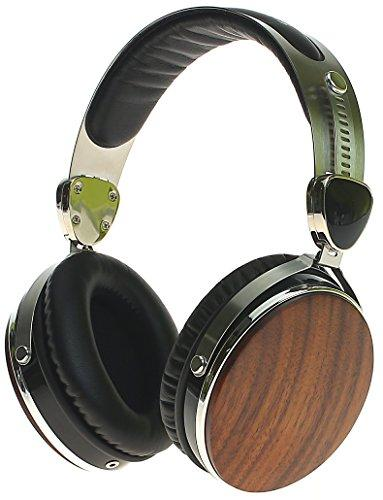 Symphonized Wraith 2.0 Premium Genuine Wood Headphones with Mic (Walnut)